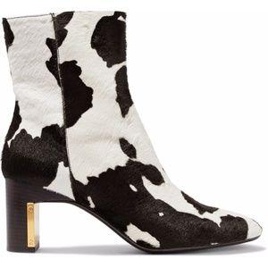 Rosetta Getty Cow Print Calf Skin Hair Boots
